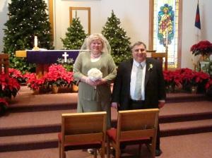 Mrs. and Mrs. David Stanton 12/12/12